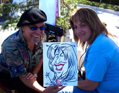 CARTooN  C i T y  C A R i C A T U R E S !!!! | Petaluma, CA | Caricaturist | Photo #4