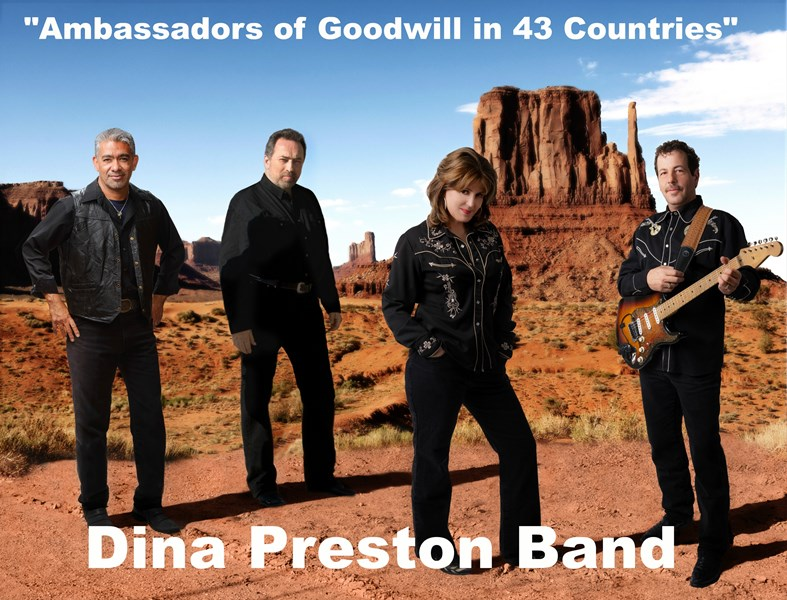 The Dina Preston Band 2017