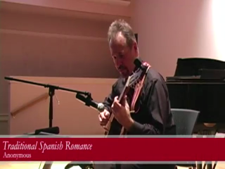 Stephen Kleiman | Norristown, PA | Acoustic Guitar | Faculty Recital at Arcadia 11/1/12 - Spanish Romance-Anonymous