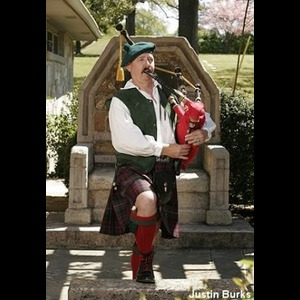 Morgan City Bagpiper | J. Stephen Sanders