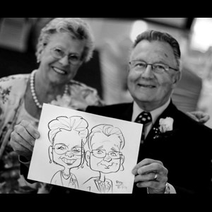 Sylvan Beach Silhouette Artist | Something Fun and Different Entertainment Company