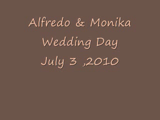 Dave's Mobile Disco | Dover, FL | Mobile DJ | Alfredo & Monika - Wedding Day