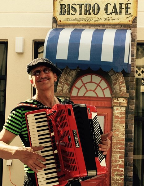 French Cafe' Accordion Player