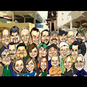Lake Village Caricaturist | David Curbis