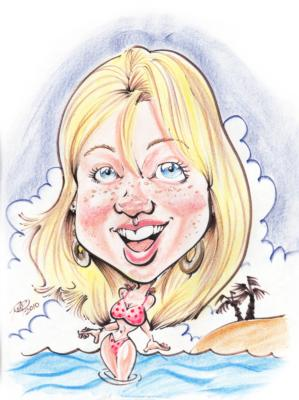 Kaman's Art Shoppes Inc. | Chagrin Falls, OH | Caricaturist | Photo #24