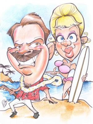 Kaman's Art Shoppes Inc. | Chagrin Falls, OH | Caricaturist | Photo #18
