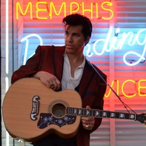 Rabun Gap Frank Sinatra Tribute Act | YOUNG Elvis Celebrity Impersonator - Harold Schulz