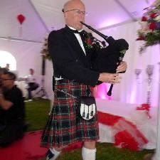 Fall Creek Bagpiper | Joe Mcdonald