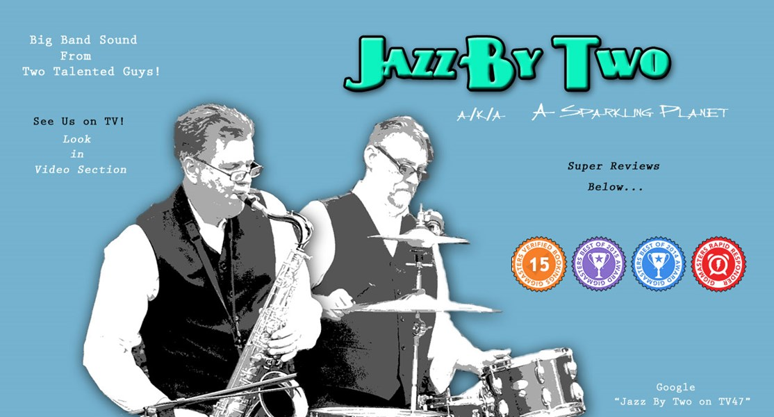 Jazz By Two (aka) A Sparkling Planet - Jazz Band - Atlanta, GA