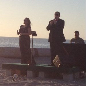 Cozad Opera Singer | Alicia and William of Nightingale Entertainment