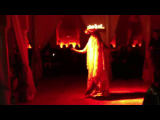 LaUra - Enchanting Belly Dancer | New York, NY | Belly Dancer | Bollywood Impro (Candle dance)