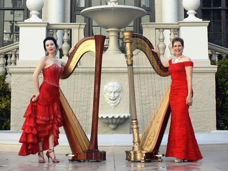 The Elegant Harp: Esther & AnnaLisa Underhay - Harpist - West Palm Beach, FL