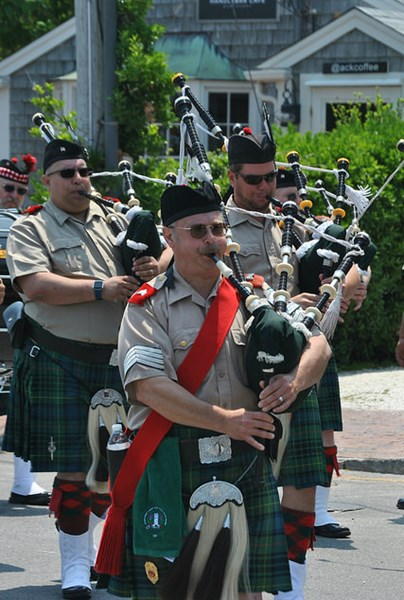 Pipe Major Sheldon C. Hamblin, Bagpiper, Cape Cod - Bagpiper - Falmouth, MA