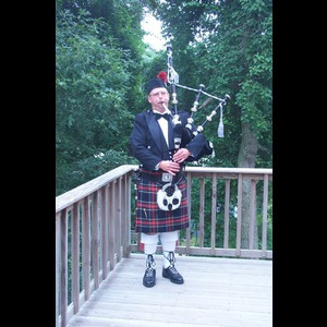 West Wareham Bagpiper | Pipe Major Sheldon C. Hamblin, Bagpiper, Cape Cod