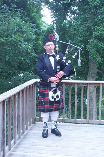 Pipe Major Sheldon C. Hamblin, Bagpiper, Cape Cod | Falmouth, MA | Bagpipes | Photo #1