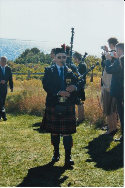 Pipe Major Sheldon C. Hamblin, Bagpiper, Cape Cod | Falmouth, MA | Bagpipes | Photo #8