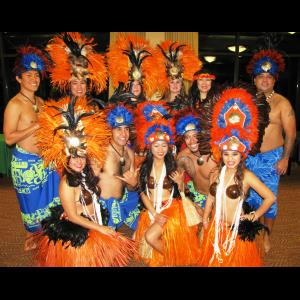 Red Oak Hula Dancer | HAWAIIAN Drums of Tahiti Revue