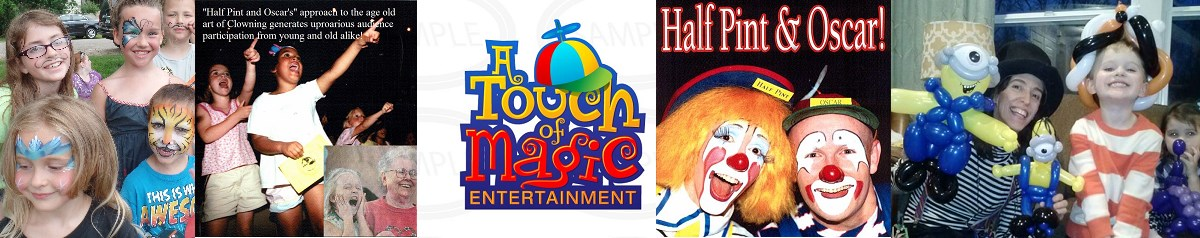 Face Painting-Balloons-Clowns by A Touch of Magic