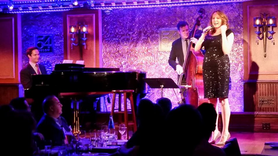 Performing in New York at 54 Below