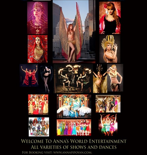 Anna's World Entertainment & Event planning - Belly Dancer - New York City, NY