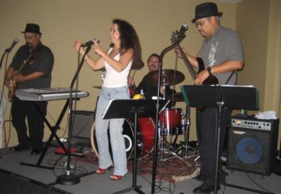 "the ""Mojo"" Manny band! 