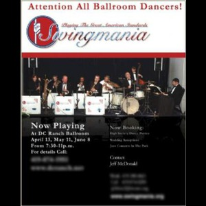 Fostoria Wedding Band | Swingmania