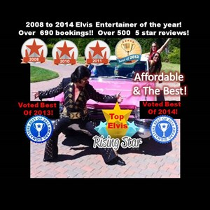 Hansboro Elvis Impersonator | Rick Torres Bay Area's #1 Elvis Impersonator