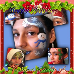 Chandler Face Painter | A Sweet Party