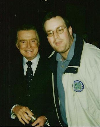 Me and Regis from my WWTBAM Days