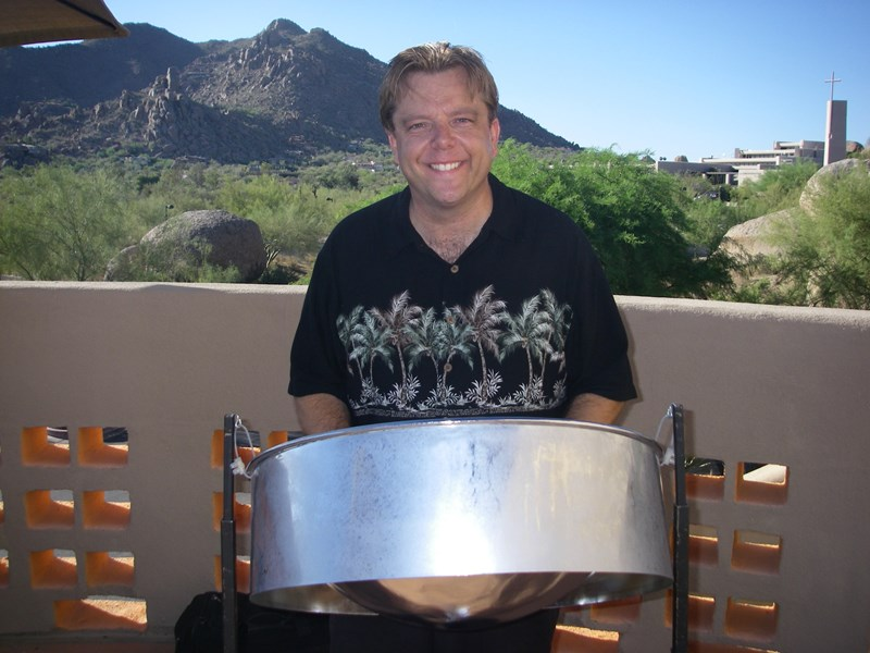 Sean Mireau and the Volcano Island Band - Steel Drum Band - Phoenix, AZ