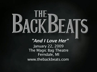 The Backbeats: Beatles Tribute Show | Westland, MI | Beatles Tribute Band | And I Love Her