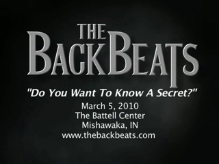 The Backbeats: Beatles Tribute Show | Westland, MI | Beatles Tribute Band | Do You Want To Know A Secret?
