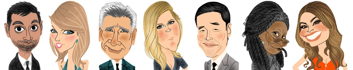 Digital & Traditional Caricatures by Zach Trenholm