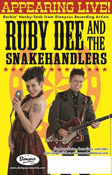 Ruby Dee & The Snakehandlers - Rockabilly Band - Austin, TX