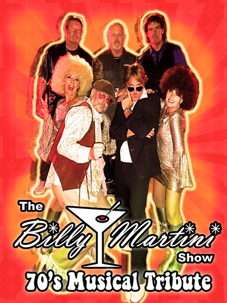 The Billy Martini Show - Cover Band - Martinez, CA