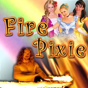 Santa Barbara Body Painter | Fire Pixie Princesses & Circus Shows