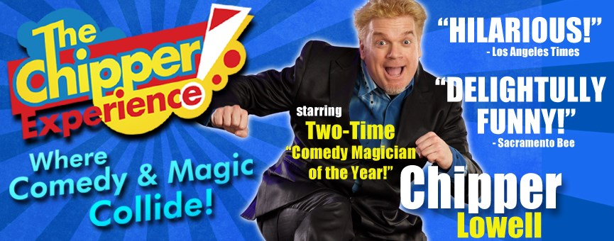 Chipper Lowell - Award-winning Corporate Comedy! - Comedy Magician - Fullerton, CA
