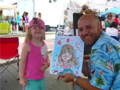 Rafael Diez-Cartoonyou! | Orlando, FL | Caricaturist | Photo #21