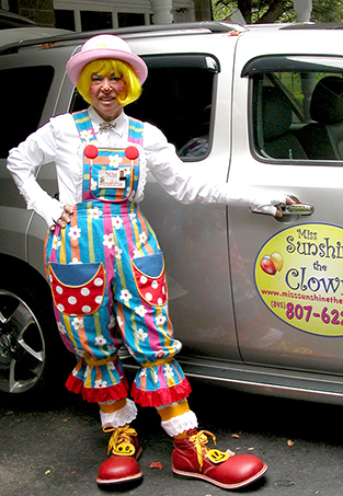 Miss Sunshine The Clown - Clown - Glen Wild, NY