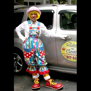 Jewett Magician | Miss Sunshine The Clown
