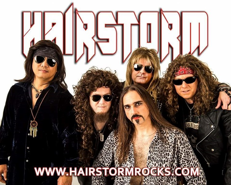 Hairstorm - A Tribute to 80's Arena Hair Rock - 80s Band - Bellevue, WA