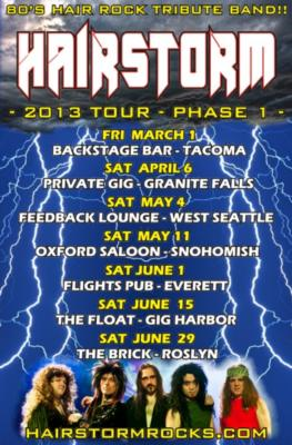 Hairstorm - 80's Hair Rock Tribute Band | Bellevue, WA | 80s Band | Photo #21