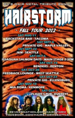 Hairstorm - 80's Hair Rock Tribute Band | Bellevue, WA | 80s Band | Photo #19
