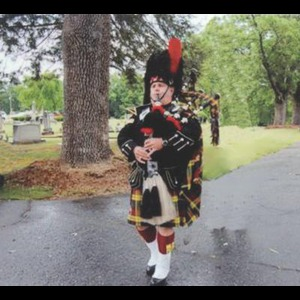 Union Furnace Bagpiper | Robert J. White