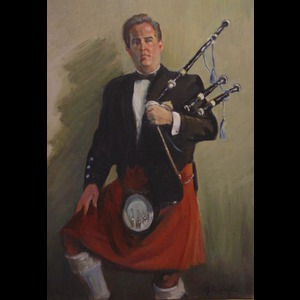 Howells Bagpiper | Robert Patrick Lynch, The Irish Piper