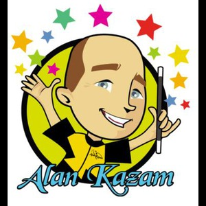 Centreville Face Painter | Birthday Party Magician Alan Kazam