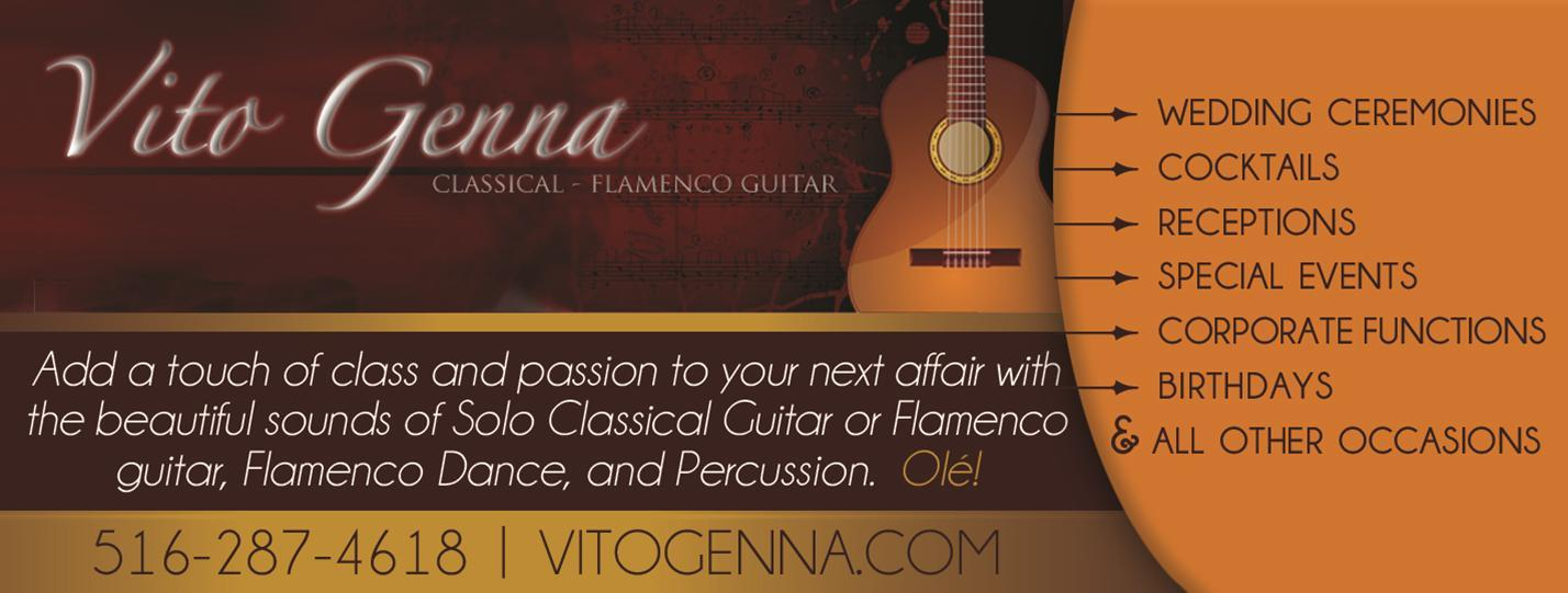Vito Genna: Classical Flamenco Latin Guitar