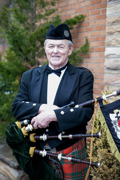 Kevin 'amazing' Grace - Celtic Bagpiper - Harriman, NY