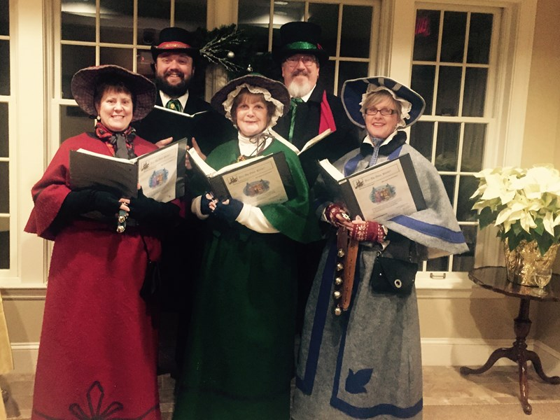 Merry Christmas Carolers of Jazz Up Your Party!! - A Cappella Group - Mansfield, MA