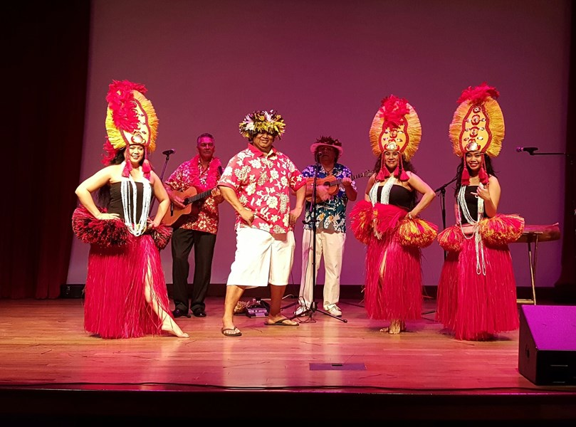 Hawaiian Drums of Tahiti Revue  - Hawaiian Dancer - Fairfield, CA